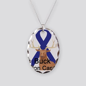 Colon Cancer Necklace Oval Charm