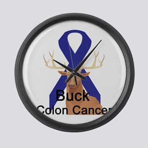 Colon Cancer Large Wall Clock