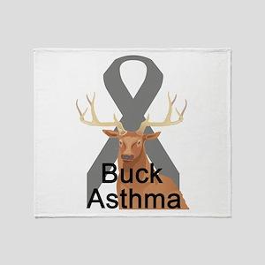 Asthma Throw Blanket