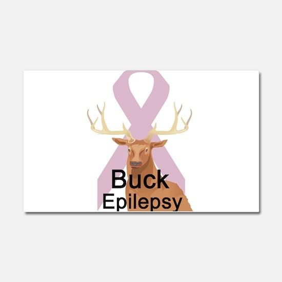 Epilepsy Car Magnet 20 x 12
