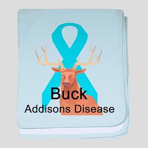 Addisons Disease baby blanket