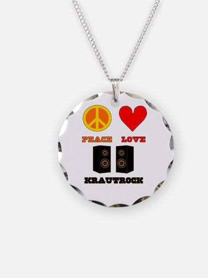 Peace Love Krautrock Necklace