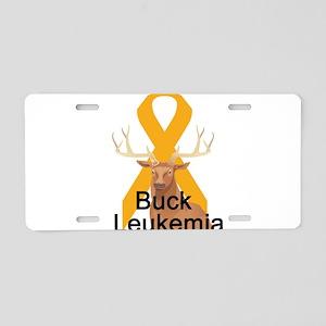 Leukemia Aluminum License Plate
