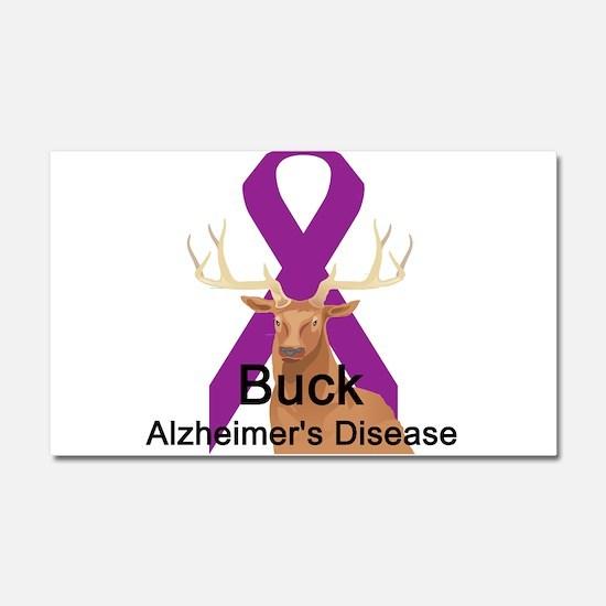 Alzheimer's Disease Car Magnet 20 x 12