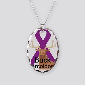 Sarcoidosis Necklace Oval Charm