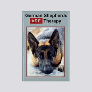 Therapy Dog German Shepherd Magnet