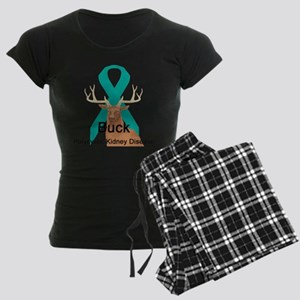 Polycystic Kidney Disease Women's Dark Pajamas