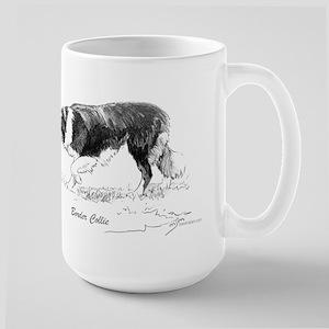 "Mug (large) ""Border Collie"""