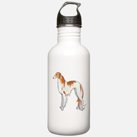 Russian Wolfhound Water Bottle