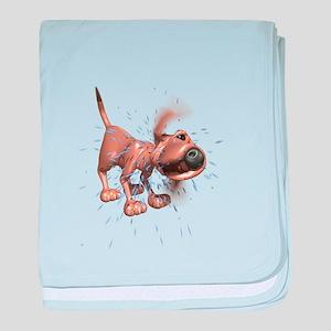 Bloodhound baby blanket