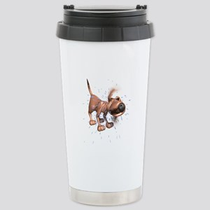 Bloodhound Stainless Steel Travel Mug