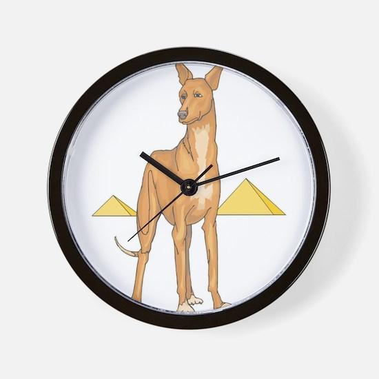 Pharoah Hound Wall Clock