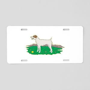 Jack Russell Aluminum License Plate