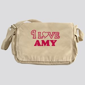 I Love Amy Messenger Bag