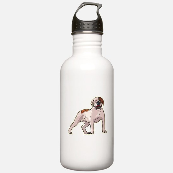 American Bulldog Water Bottle