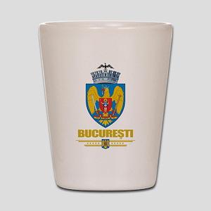 Bucuresti (Bucharest) Shot Glass