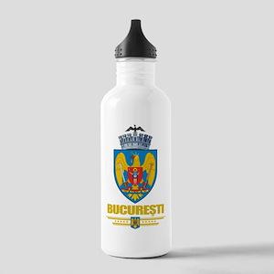 Bucuresti (Bucharest) Stainless Water Bottle 1.0L
