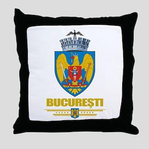 Bucuresti (Bucharest) Throw Pillow