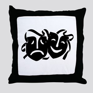 Theater Macabre Throw Pillow