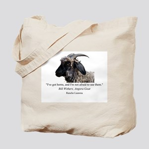 """I've Got Horns"" Tote Bag"