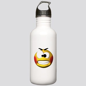 Goofy Manic Face Stainless Water Bottle 1.0L