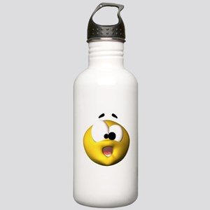Shocked Silly Face Stainless Water Bottle 1.0L