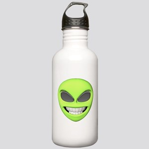 Cheesy Smile Alien Face Stainless Water Bottle 1.0