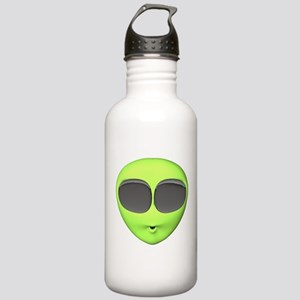 Big Eyed Alien Face Stainless Water Bottle 1.0L
