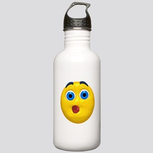 Very Shocked Face Stainless Water Bottle 1.0L