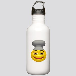Chef Hat Face Stainless Water Bottle 1.0L