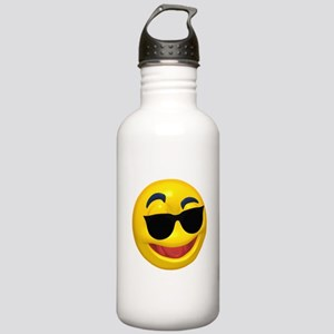 Cool Shades Face Stainless Water Bottle 1.0L