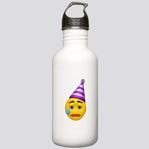 Crying Party Hat Face Stainless Water Bottle 1.0L