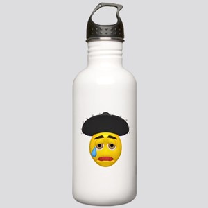 Mexican Hat Crying Face Stainless Water Bottle 1.0
