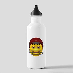 Football Helmet Face Stainless Water Bottle 1.0L