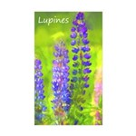 Lupines Sticker (Rectangle 50 pk)
