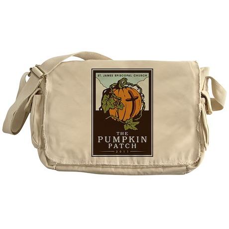 St. James Episcopal Pumpkin Patch Messenger Bag