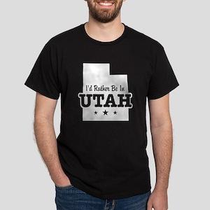 I'd Rather Be In Utah Dark T-Shirt