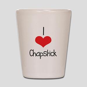 Chapstick Shot Glass