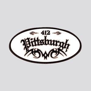 Pittsburgh 412 Patches