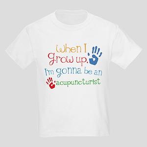 Kids Future Acupuncturist Kids Light T-Shirt