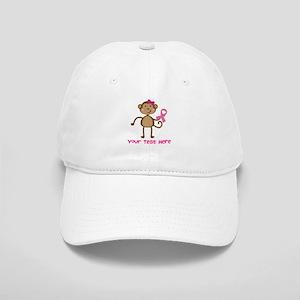 Custom Breast Cancer Monkey Cap