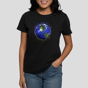 Less Plastic? Fantastic! Women's Dark T-Shirt