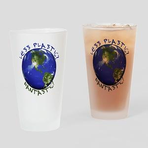 Less Plastic? Fantastic! Drinking Glass