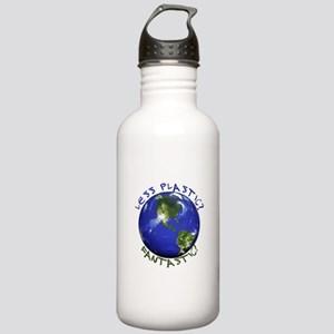 Less Plastic? Fantastic! Stainless Water Bottle 1.