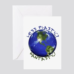 Less Plastic? Fantastic! Greeting Card