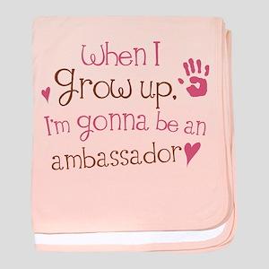 Kids Future Ambassador baby blanket