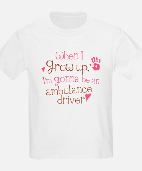 Kids Future Ambulance Driver T-Shirt