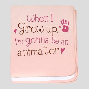 Kids Future Animator baby blanket