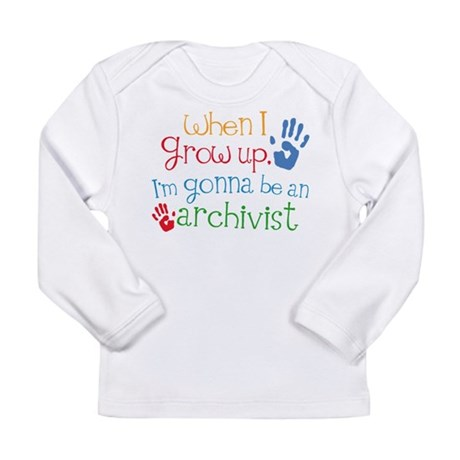 Kids Future Archivist Long Sleeve Infant T-Shirt