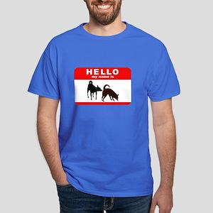 Hello My Name Is Dark T-Shirt